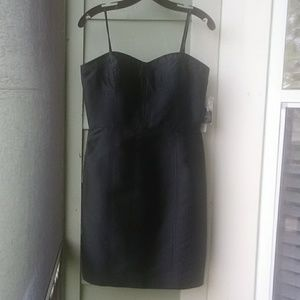 Adrianna Papell Boutique BLACK STRAPLESS DRESS 8